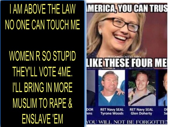 HILLARY ABOVE LAW