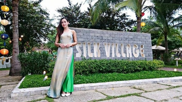 Image result for hoi an silk