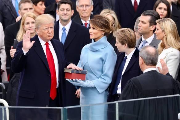 Donald Trump oath
