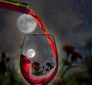 Rượu. và trăng