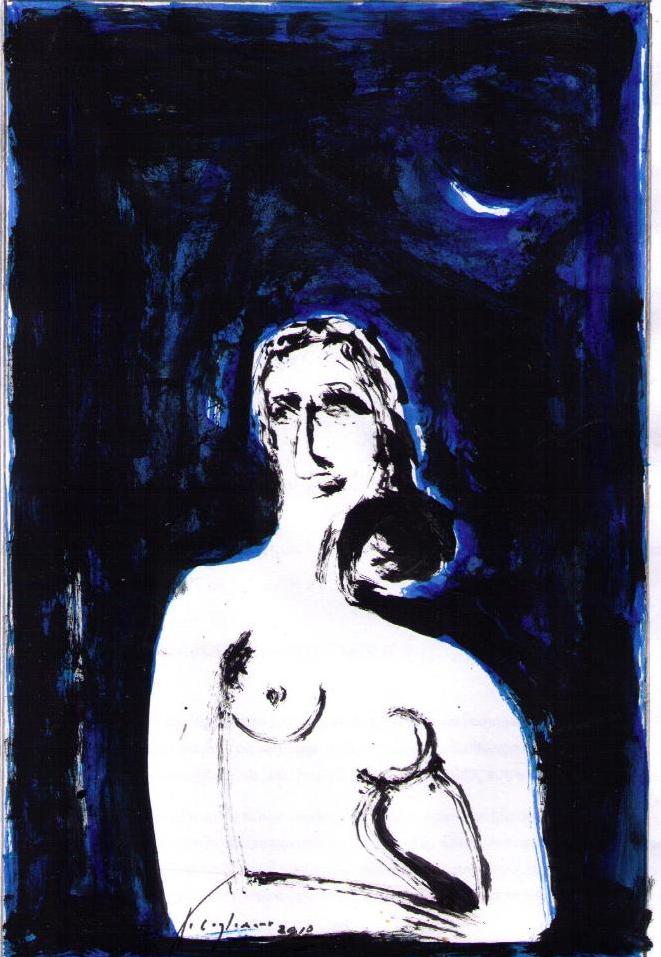 vcl- 'TRĂNG THIẾU PHỤ -YOUNG WOMAN -THE MOON